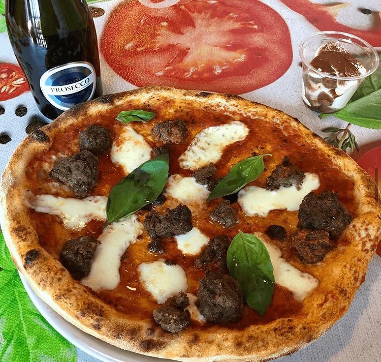 Pizza polpettona - Pomodoro - France - Augny