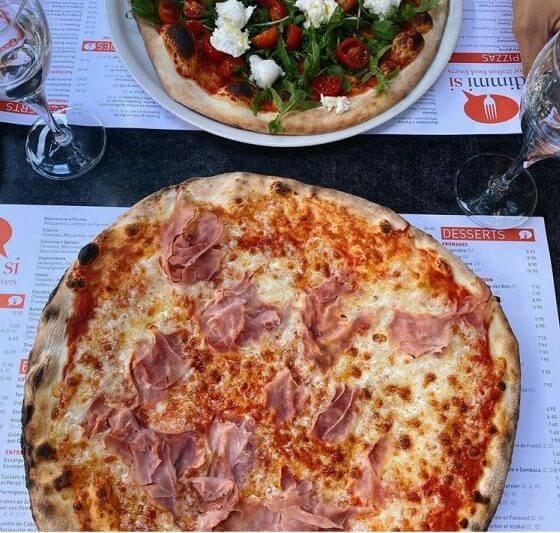 Pizza prosciutto - Dimmi Si - Luxembourg - Esch-sur-Alzette