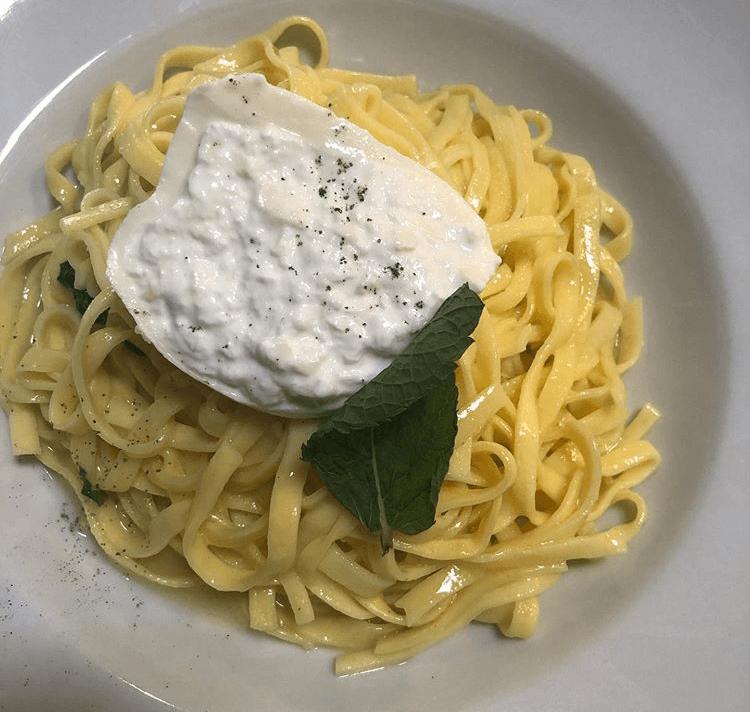 Tagliatelle alla menta e limone - Pomodoro - France - Augny