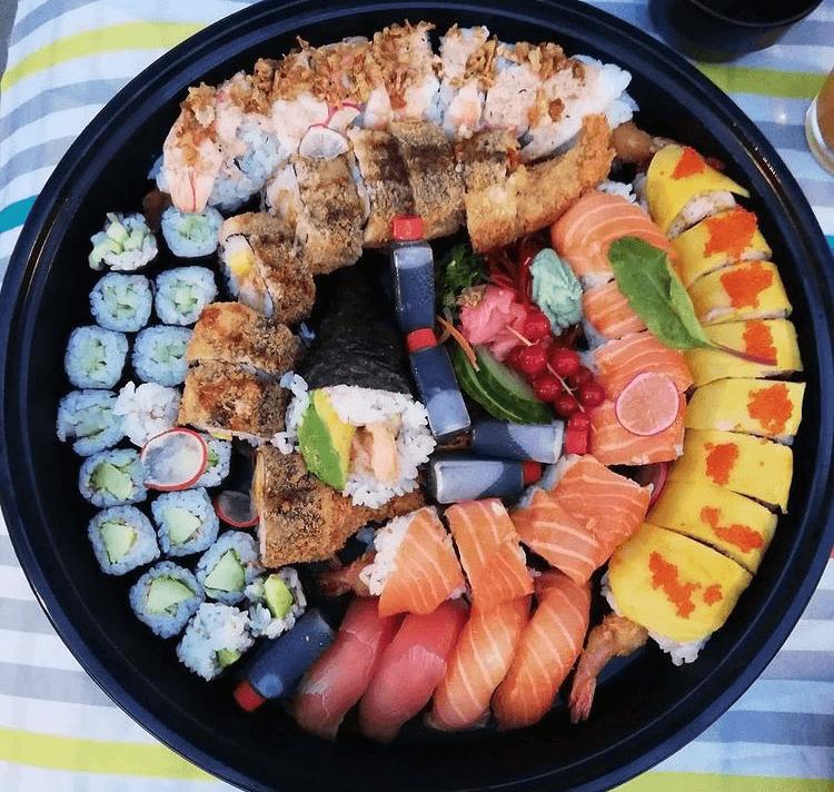 Combo sushi sashimi XL - Shabu - Luxembourg - Echternach